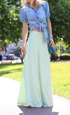 maxi skirt love