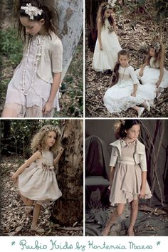 Vestidos de ceremonia para niñas · Tendencias de Bodas Magazine