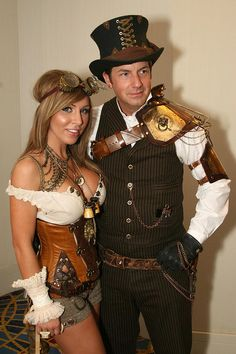 Steampunk Gentlemen Prefer Corsets--I mean, Blondes! by DalaiMickey, via Flickr