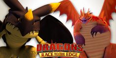 POLL: Which New Dragon From Dragons: Race to the Edge Season 3 is Your Fav?