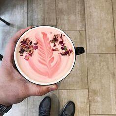 Floral lattes