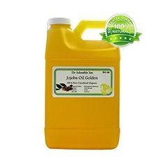Jojoba Oil Golden Organic 100% Pure By Dr.Adorable 64 oz / 2 Quarters - http://essential-organic.com/jojoba-oil-golden-organic-100-pure-by-dr-adorable-64-oz-2-quarters/