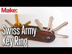 DIY Hacks & How To's: Swiss Army Key Ring - YouTube