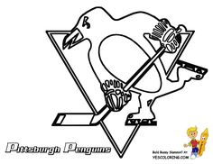 Pittsburgh Penguins hockey coloring page. All the NHL Hockey #coloringpages can here. You Can Print Out This #Hockey #Coloring-Page Now... http://www.yescoloring.com/images/24_Pittsburgh_Penguins_hockey_at_coloring-pages-book-for-kids-boys.gif