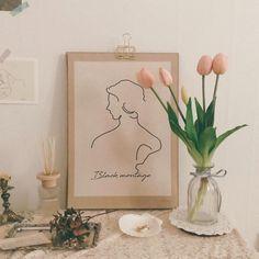 future home diy Flower Aesthetic, Aesthetic Images, Pink Aesthetic, Aesthetic Wallpapers, Aesthetic Room Decor, Tulips Flowers, Pastel Wallpaper, Decoration, Room Inspiration