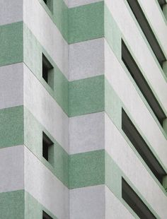 Striped Building