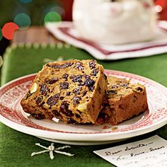 Christmas Fruitcake~Website claims~Christmas Fruitcake  This nutty, rum-soaked cake will defy all the jokes made about fruitcake during the holiday season. It's tender, filled with sweet raisins, currants, apricots and figs, and gets a little crunch from chopped pistachios.  | MyRecipes.com