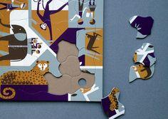 Multi View Puzzles by Fredun Shapur