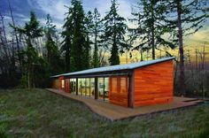 Blu Homes Unfolds a Glidehouse Prefab on Vashon Island in Washington Vashon Island Glidehouse-Blu Homes – Inhabitat - Green Design, Innovation, Architecture, Green Building