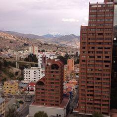 La Paz - Bolivia vista desde el Hotel Radisson