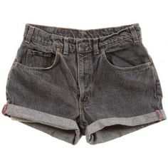 Rokit Recycled Levi's Denim Turn Up Shorts W30
