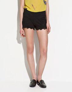Zara Blonde Shorts $40