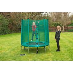 6ft Trampoline and Enclosure image-2