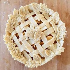 Pie decorating ideas