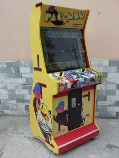 """Máquina de Video Juegos """"Clásica""""."""