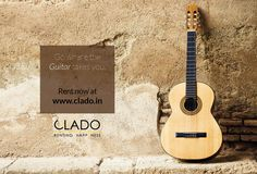 Where words fail, music speaks! Rent Musical Instruments at #clado