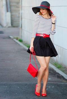 Maravillosas faldas de verano | Combinaciones varias Moda 2015