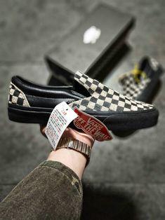 N.HOOLYWOOD x Vans Slip On Vans Vault Black Checkerboard Shoe amazon  Recommend Vans For Sale  Vans c1d43a49c