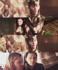 """Tom Hiddleston """"Loki"""" Stills from """"Thor"""""""