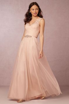 Blush Fleur Dress | BHLDN