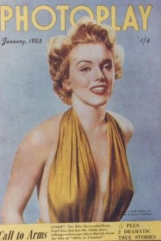 "Vintage Marilyn ""Photoplay"" magazine cover"