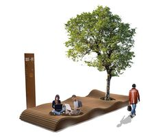 Exterior benches | Street furniture | Solid | Streetlife. Check it out on Architonic