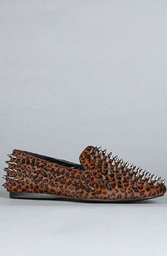 The Hellraisers Shoe in Leopard Pony Hair by Unif