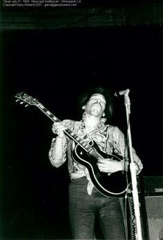 Jimi Municipal Auditorium  Shreveport, LA  31 Jul 1968