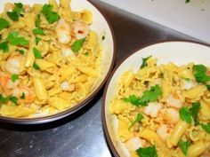 Garlicky Shrimp Pasta Recipe (from The Best of America's Test Kitchen 2010)