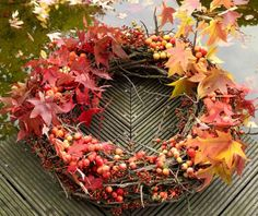 wreath made by `Oogenlust`,
