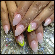 My grad/NY nails. I love my nail lady. La lotus nail spa - Vancouver