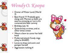 Profiles: Wendy O Koopa