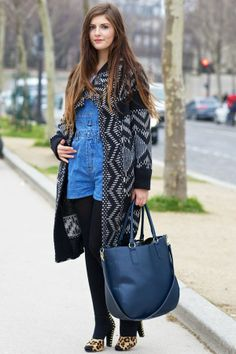 Paris Street Style Winter 2013
