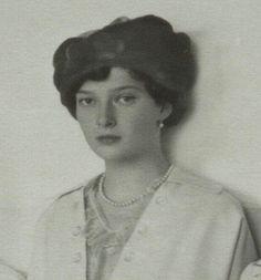 The Grand Duchess of Russia Tatiana, 1915