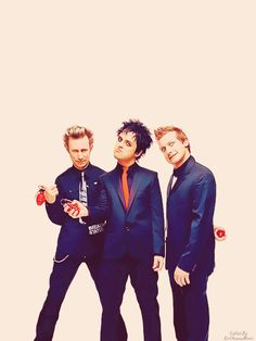 Green Day; I'm probably too old tolike these guys, but I do.