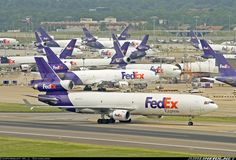 FedEx - Federal Express McDonnell Douglas MD-11(F) 	 Memphis - International (MEM / KMEM) USA - Tennessee, July 1, 2005