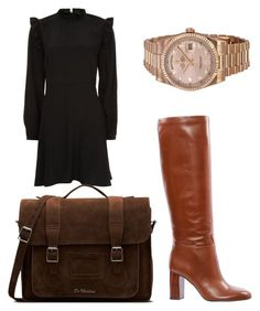 """""""Work- outfit"""" by jayne-hh on Polyvore featuring New Look, Tory Burch, Dr. Martens and Rolex"""