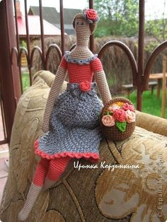 use Tilda pattern to crochet