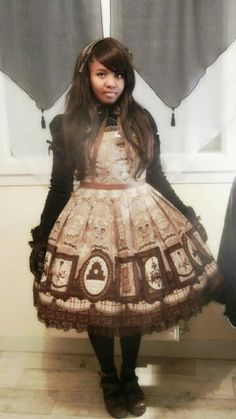 Musée du chocolat by Angelic Pretty