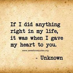 We've all experienced a moment when you just can't find the right words to say 'I love you' and describe the depth of your feelings, so here are 60 cute and sweet love quotes for him that are sure to make his heart melt. Love Quotes For Him Cute, Love Quotes For Him Boyfriend, Sweet Love Quotes, Girlfriend Quotes, Love Yourself Quotes, Love Is Sweet, So In Love, I Will Always Love You Quotes, My King Quotes