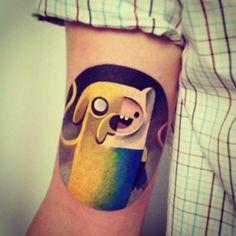 "33 tatuajes de la serie animada ""Hora de Aventura"" que te darán vida"