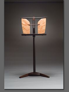 Music stand by Solomon Ross furniture,  this is so beautiful.