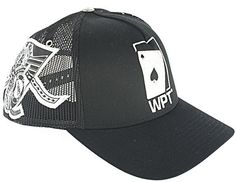 $5.00 World Poker Tour Hat. Black With Silver Embroidery. At Liquidationprice.com