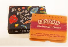 Lexicon Floundering Two vintage games boxed by RosemarysMemories