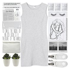 """me??? upset???? yes constantly"" by alienbabs ❤ liked on Polyvore featuring Marie Turnor, Meggie, Calvin Klein, Byredo, Monki, Georgie Beauty, clean, organized and shein"