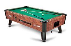 L' elegante biliardo (pool americano) professionale modello Golden, specifico per sale da biliardo e locali da intrattenimento poiché dotato di...