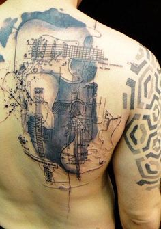 Abstract Tattoo by Xoil Tattoo - http://worldtattoosgallery.com/abstract-tattoo-by-xoil-tattoo-38/