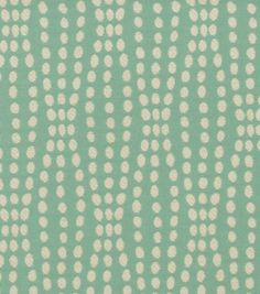 Waverly Upholstery Fabric-Strands/ Turquoise