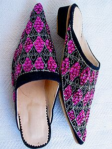 Love these Moroccan shoes!  Con't wait to visit and get design inspirations and maybe some new lines!