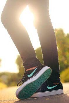 Nike Janoski Aqua Blue